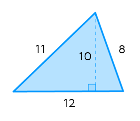 How do you calculate the area of a triangle?