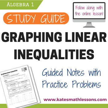 Graphing Linear Inequalities - KATE'S MATH LESSONS