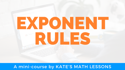 How to simplify expressions with exponents: product, power, quotient rules, negative and zero exponents.