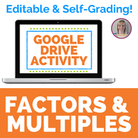 Factors and Multiples Digital Activity for Google