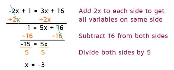How to solve multi step equations with variables on both sides